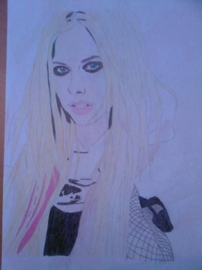 Avril Lavigne by angeltelimi23